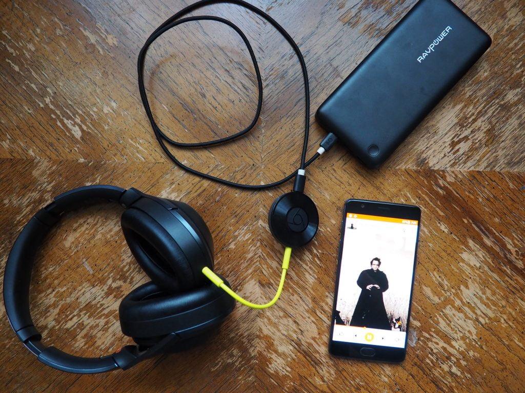 Chromecast Audio through Headphone